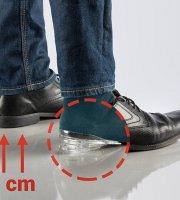 Zvyšujúce vložky do topánok
