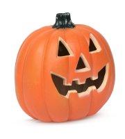 Halloweenska LED tekvica - 32 x 30 cm
