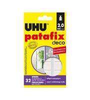 UHU Patafix homedeco - biela lepiaca guma - 32 ks / balenie