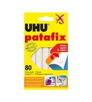 UHU Patafix biela lepiaca guma - 80 ks / balenie