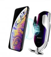 Držiak do auta na telefón s bezdrôtovou nabíjačkou, NFC - vo viacerých farbách