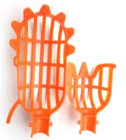 Hlava na zber ovocia - oranžová